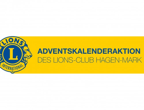 Start der Adventskalenderaktion 2019